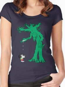 The Giving Treebeard Women's Fitted Scoop T-Shirt