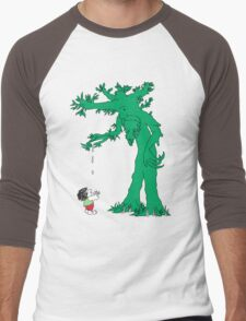 The Giving Treebeard Men's Baseball ¾ T-Shirt