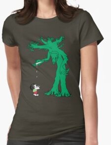 The Giving Treebeard Womens Fitted T-Shirt