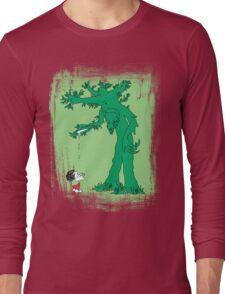 The Giving Treebeard on Lime Long Sleeve T-Shirt