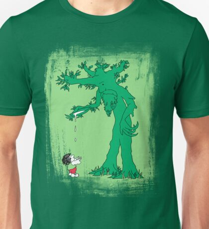 The Giving Treebeard on Lime Unisex T-Shirt