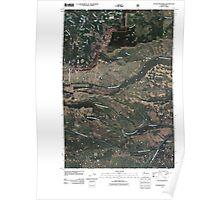 USGS Topo Map Washington State WA Foundation Ridge 20110506 TM Poster