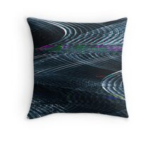 Glitch - Storm Throw Pillow