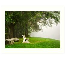 Peace and Quiet Landscape Art Art Print