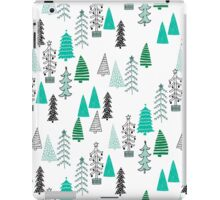 Christmas Forest - Light by Andrea Lauren  iPad Case/Skin