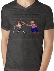 Sword Fight! Mens V-Neck T-Shirt