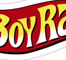 Boy Racer Sticker