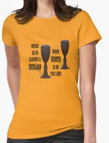 Classic Blunder Womens Fitted T-Shirt