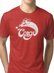 Corgi! Tri-blend T-Shirt