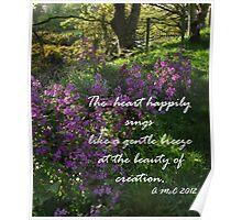 Beautiful Creation Poster