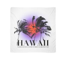 HAWAIIAN SUNRISE 1970 Scarf