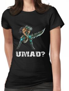 LOL - Tryndamere, UMAD? Womens Fitted T-Shirt