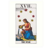 The Star Tarot Art Print