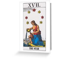 The Star Tarot Greeting Card