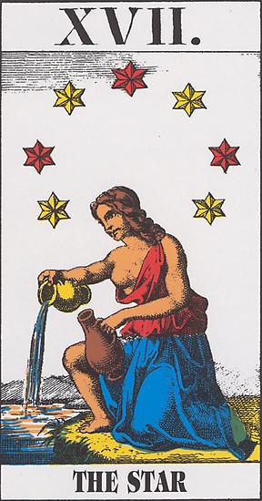 The Star Tarot by babydollchic