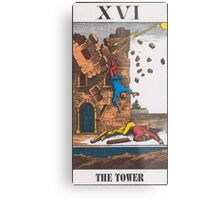 The Tower Tarot Metal Print