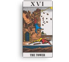 The Tower Tarot Canvas Print