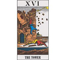 The Tower Tarot Photographic Print