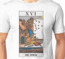 The Tower Tarot Unisex T-Shirt