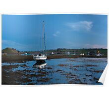 Boats of Alnmouth Poster