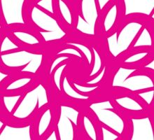 Flamingo Psychedelic Sticker