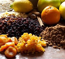 Mincemeat ingredients by David Isaacson