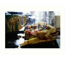 Omelette Art Print