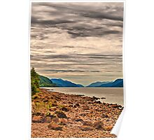 Loch Ness View Poster
