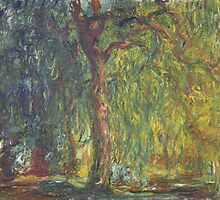 Weeping Willow by Claude Monet by Robert Partridge