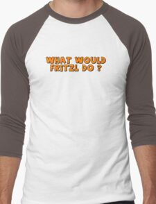 What would Fritzl do ? Men's Baseball ¾ T-Shirt