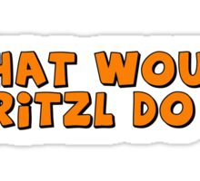What would Fritzl do ? Sticker
