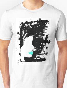 Blue Lippy. T-Shirt