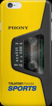 Phony Talkman (Sony Walkman Sports) by Alisdair Binning