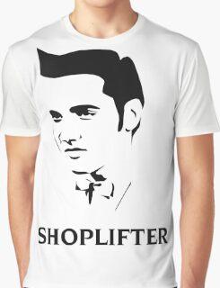 The Smiths Shoplifter Elvis Morrissey Cartoon Graphic T-Shirt