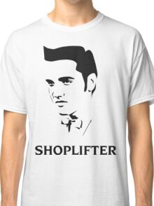 The Smiths Shoplifter Elvis Morrissey Cartoon Classic T-Shirt