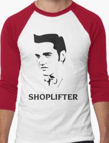 The Smiths Shoplifter Elvis Morrissey Cartoon Men's Baseball ¾ T-Shirt