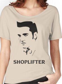 The Smiths Shoplifter Elvis Morrissey Cartoon Women's Relaxed Fit T-Shirt