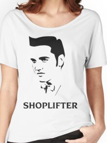 The Smiths Shoplifter Elvis Morrissey Cartoon Women's Relaxed Fit T-Shirt
