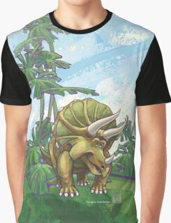 Animal Parade Triceratops Graphic T-Shirt