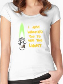 Lightsaber Women's Fitted Scoop T-Shirt