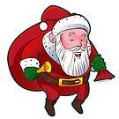 Cartoon Santa Claus by StudioDomingos