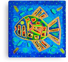 Fish Abstraction Canvas Print