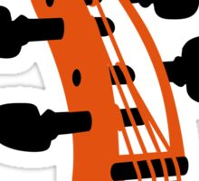 Cello Scroll VRS2 Sticker
