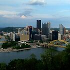 Pittsburgh Skyline  by Chris  Hayworth