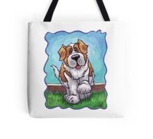 Animal Parade St. Bernard Tote Bag