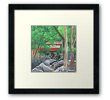 Southford Falls, Southbury CT Framed Print