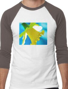 Daffodil Blues Men's Baseball ¾ T-Shirt