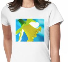 Daffodil Blues Womens Fitted T-Shirt