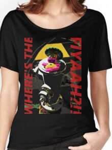 yapilopi - where's the fiyaah?!! Women's Relaxed Fit T-Shirt