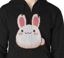 Blushing Bunny Zipped Hoodie